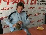 Игорь Растеряев - номер с фляжкой